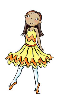 Juliette ballerina friend