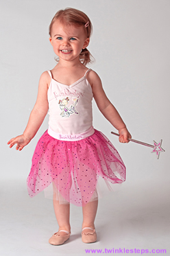 Sparkly Tutu Skirt and wand