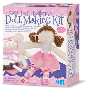 Easy-to-do Doll Making Kit - Ballerina