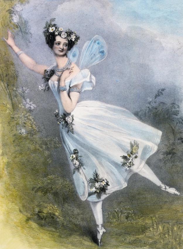 Marie Taglioni wearing a 'Romantic Tutu'