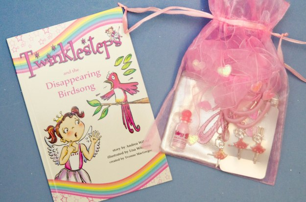 Twinklesteps ballet book and ballet goodies