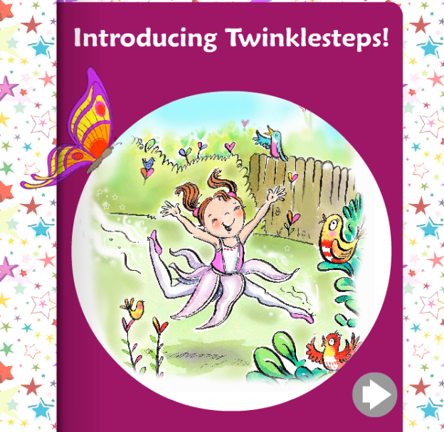 Twinklesteps the fairy ballerina, an online introduction