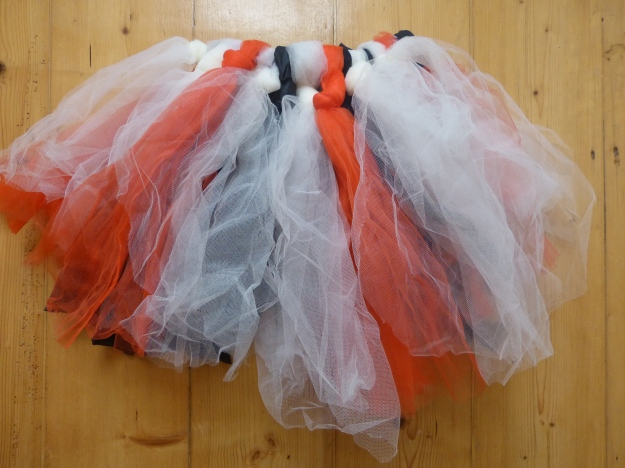 Halloween home made ballet tutu costume