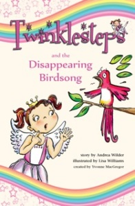 Twinklesteps ballet adventure birdsong book front cover
